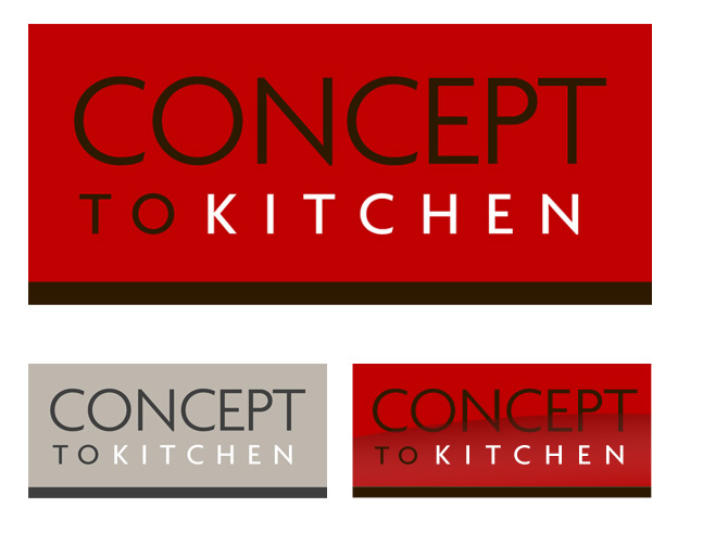 New logo design for kitchen fitter