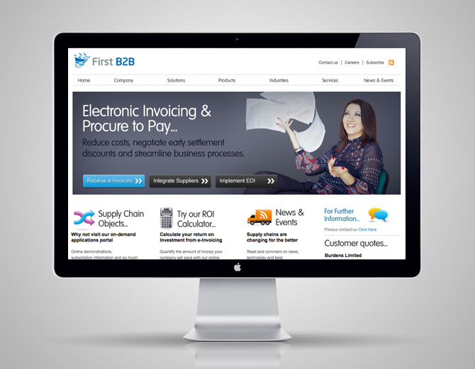 Web design Chesterfield – FB2B