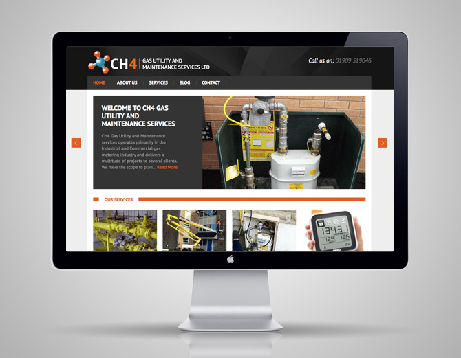 CH4 Services new website