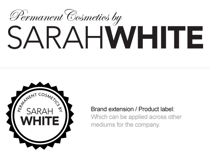 Sarah White - Semi Permanent Makeup logo